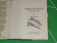 Signed Copy of 'Home and Away' Book by Mark Hateley England Rangers AC Milan