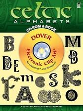 Celtic Alphabets by Dover Staff (2012, Paperback)