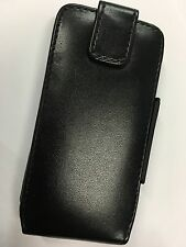 Nokia N96 Fitted Leather Flip Case - Black CLC4344 Brand New in Original Package