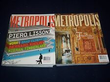 2000S METROPOLIS MAGAZINE LOT OF 12 ISSUES - DESIGN - ARCHITECTURE - O 638