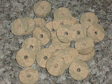 "25 Rod Building Wrapping 1 1/4"" x 1/4"" x 1/4"" Blue Burl cork rings ""Blowout"""