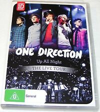 ONE DIRECTION--UP ALL NIGHT--THE LIVE TOUR --- Dvd