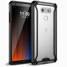 LG G6 Poetic [Affinity Series] Shockproof Case TPU Protective Bumper Cover 3 CLR
