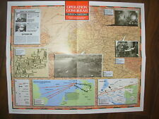 IMAGES OF WAR WWII CAMPAIGN MAP OPERATION GOMORRAH HAMBURG 24 JULY TO 3 AUG 1943