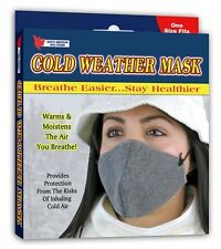 Cold Weather Mask Face Mouth Cover Sports Grey Skiing Snowboard Healthy Health