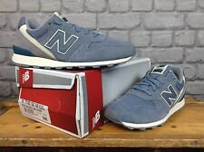 NEW BALANCE 996 LADIES UK 6 EU 39 BLUE GREY SUEDE TRAINERS £85