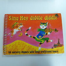 Songbook cantare Hey DIDDLE DIDDLE 66 nurcery Rhymes