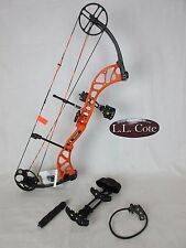 Bear Wild Compound Bow Left Hand 60# Blaze Orange Ready to hunt package