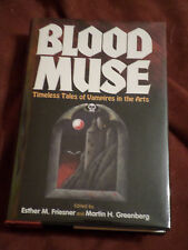 Blood Muse ed. Esther M. Friesner (1995, Hardcover) SIGNED x8