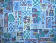 New Vintage Princess Fabrics Patchwork Bears Cats Dogs Flowers Cow Cotton Fabric