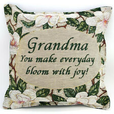 Clearance - Grandma Gift - Magnolia Pillow - Gift for Grandmothers - Made in USA