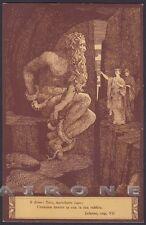 EZIO ANICHINI INFERNO DIVINA COMMEDIA Divine Comedy DANTE DANTESCA Cartolina 10
