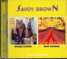 "Savoy Brown:  ""Shake Down / Raw Sienna""  (2on1 CD Reissue)"
