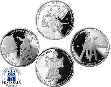 Monedas conmemorativas-set españa 3 x 10 euros de plata 2005 pp monedas de plata Don Quijote