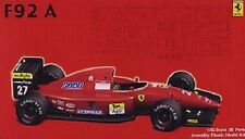 Fujimi GPSP-8 1/20 Model Formula One F-1 Kit Ferrari F92A-T Late Type Clear Body