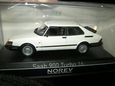 1:43 Norev Saab 900 Turbo 16 1991 weiss/white Nr. 810032 OVP