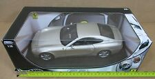 "Hot Wheels Ferrari Enzo 612 Scaglietti Silver Car Die-Cast 1:18 Scale 10½"" NEW"