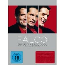FALCO - FALCO - SUPERSTAR & ROCKIDOL 6 DVD SET NEU