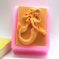 Mermaid Silicone Soap mold Craft Molds DIY Handmade soap mould
