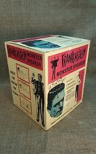 1964 FRANKENSTEIN SPEAKER HEAD BOX FAMOUS MONSTERS  NICE !!