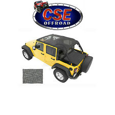 52581-11 Bestop Mesh Safari Bikini Top Jeep Wrangler JK 2007-2009 4 Door