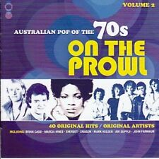 AUSTRALIAN POP OF THE 70s VOLUME 2 ON THE PROWL VARIOUS ARTISTS 2 CD NEW