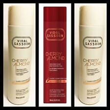 NEW VIDAL SASSOON Cherry Almond Classic Clean Shampoo & 2 Conditioner Free Ship