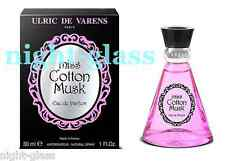 "EAU DE PARFUM ""MIS COTTON MUSK"" NEUF-FRENCH PERFUME NEW IN BOX/30 ML"
