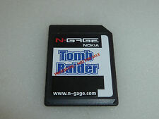 NGAGE VIDEO GAME CARD TOMB RAIDER LARA CROFT NOKIA PROTOTYPE RARE NFRS N-GAGE