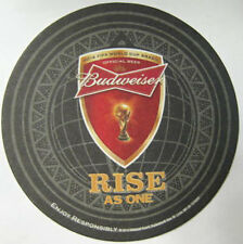 BUDWEISER RISE AS ONE BUD LIGHT FIFA World Cup BRASIL Beer COASTER Mat MISSOURI