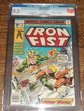 Iron Fist #14 (Aug 1977, Marvel) CGC 8.5 WHITE PAGES - 1ST APPERANCE SABRETOOTH