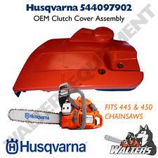 Genuine Husqvarna 544097902 / 544097901 Clutch Cover Assembly | 445 | 450