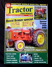 Tractor & Machinery, May 2011, DB on the farm, DB in the war, Buying a 990.