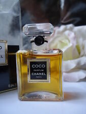 CHANEL COCO PURE PARFUM 7ml VINTAGE LATE 1980s SEALED BOX OPENED FOR PHOTOS FULL