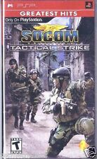 SOCOM: U.S. Navy SEALs -- Tactical Strike Greatest Hits (PSP, 2007)   Sealed