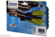 EPSON T5846 ORIGINAL PICTURE PACK INK + 150 PACK PAPER PM240 PM280