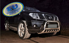 Nissan Navara 2005-2010 CE APPROVED BULL BAR PUSH BAR GRILL GUARD WITH AXLE GRIL
