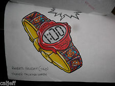 2 LOT ORIGINAL ART RUGRATS WATCH COLOR & BW BURGER KING FAST FOOD TOY