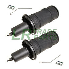 RANGE ROVER P38 FRONT AIR SPRINGS AIR BAGS NEW DUNLOP PAIR X 2 REB101740G +CLIPS