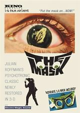 THE MASK 1961 New Sealed DVD 3D with Magic Mystic Mask aka Eyes of Hell