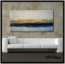 ABSTRACT PAINTING CANVAS WALL ART 48in. Large US.ELOISExxx