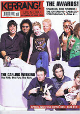 FOO FIGHTERS / OFFSPRING / GARBAGE Kerrang  no. 920 Sep 7 2002