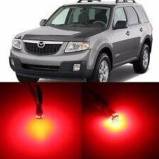 Alla Lighting 3rd Brake Light 2825 168 Super Red 12V LED Bulbs for Mazda Tribute