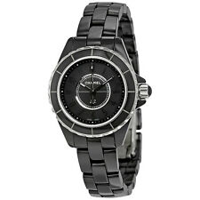 Chanel J12 Black Dial Ladies Watch H4196