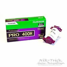 Fuji Pro 400H 400asa Colour Print FIlm - Single 120 Roll
