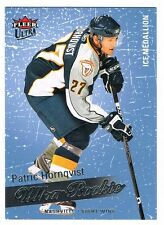 2008-09 FLEER ULTRA ROOKIE ICE MEDALLION PARALLEL#268 PATRIC HORNQVIST 072/100