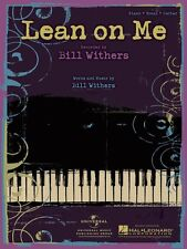 Lean on Me Sheet Music Piano Vocal Bill Withers NEW 000353940