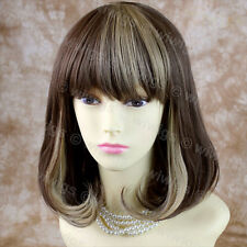 Wiwigs Trendy Blonde & Brown Mix Medium Heat Resistant Ladies Wig
