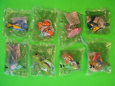 2003 McDonalds - Finding Nemo - set of 8 *MIP*