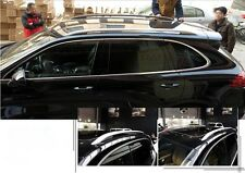 aluminium Fit for Cayenne 2011-2017 baggage luggage Roof rack rail bar protector